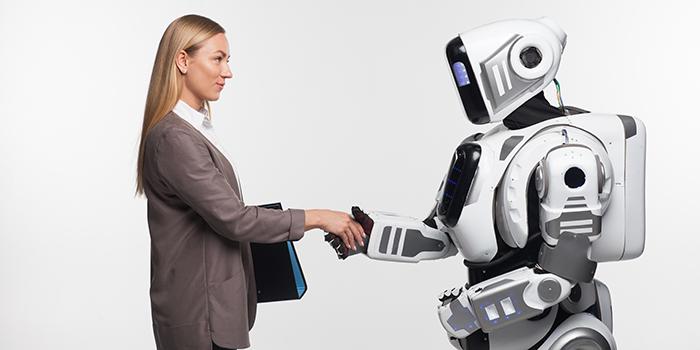 人と仲良くするAI搭載ロボット