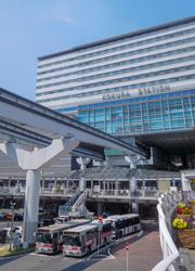 北九州空港からの抜群のアクセス、小倉駅